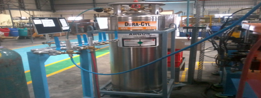 Dura or Mini Bulk cylinders